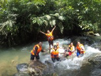 Wisata Rivertrekking Curug Blao Bogor