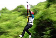 Wisata Rafting Citarik dan Flying Fox Satu Hari