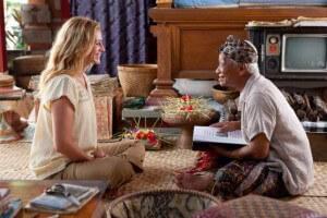 Ketut Liyer in the movie of Eat Pray Love, Bali